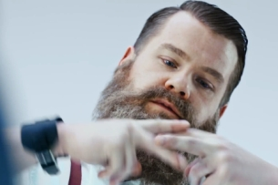 James Corden's Alter Ego Revealed in New Samsung Galaxy S6 Reveal