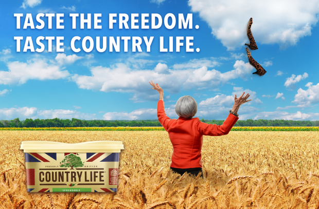 Country Life Gives Theresa May a Taste of Freedom in Latest Stunt