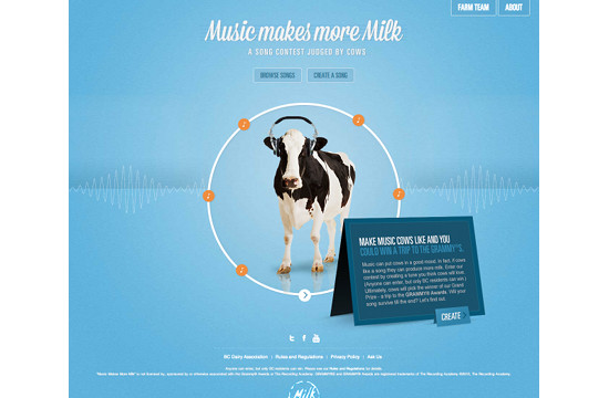 Connection Between Music and Milk Production?