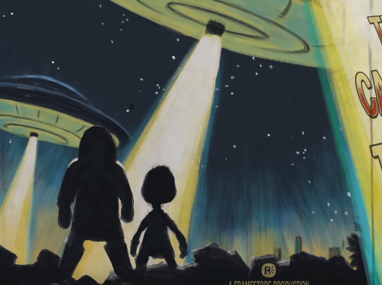 Framestore's 2019 Christmas Card is a '50s-Inspired Sci-Fi Short
