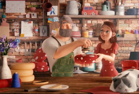 Gentleman Scholar Creatively Crafts a Charming Animated Story About Cheese