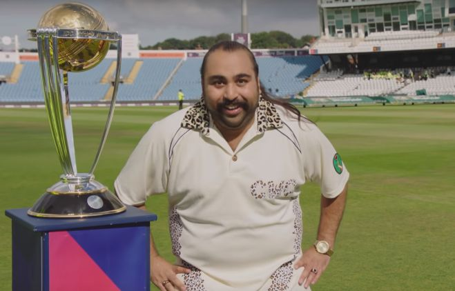 Chabuddy G is the Cricket Connoisseur in New ICC World Cup Campaign