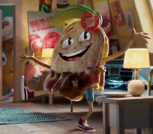 Golden Crumpet Achieves Stardom Against All Odds in New Quirky Great Weston Foods Spot