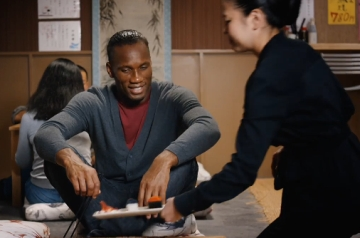 It's Drogba Vs Messi in Turkish Airlines' Worldwide Culinary Race