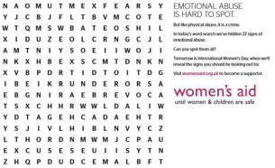 WCRS Launches 'Mind Games' Campaign to Support Victims of Domestic Abuse