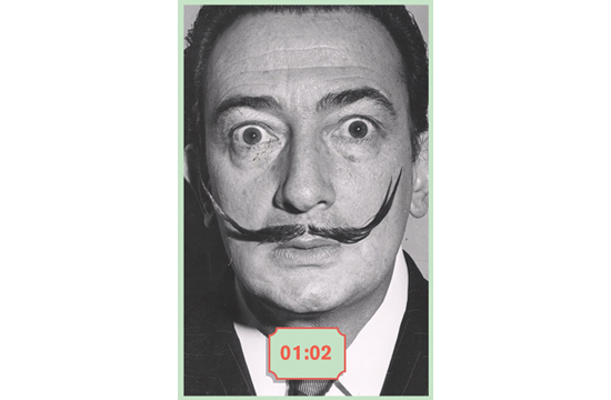 Could You Beat Dalí in a Staring Contest?