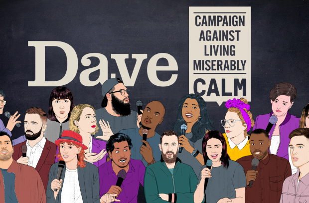 Dave to Air First Ever 'Comedy Festival in an Ad Break' for CALM Partnership
