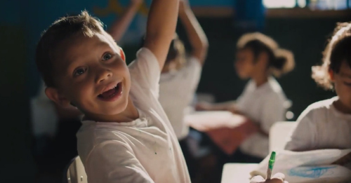 The Power Of A Smile. SS+K Create Campaign For Smile Train.