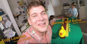 Inventor Tom Lawton Builds Egg Rolling Machine for Sainsbury's #nevergrowingup campaign