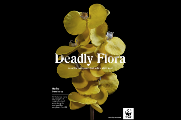 'Deadly Flora' Campaign Highlights the Impact Plastic Has on the Environment