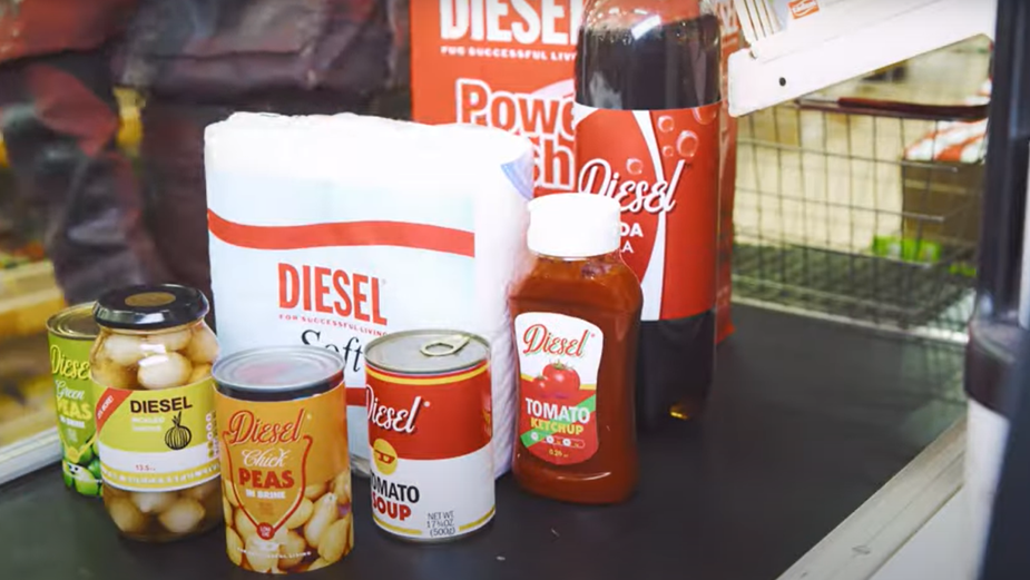 A Bodega Is Filled with DIESEL-Made Goods in Fall/Winter 2021 Campaign
