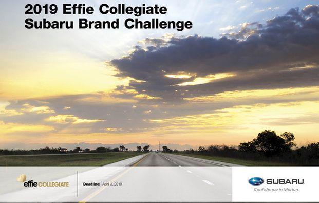 Effie Collegiate Introduces 2019 Brand Challenge by Subaru