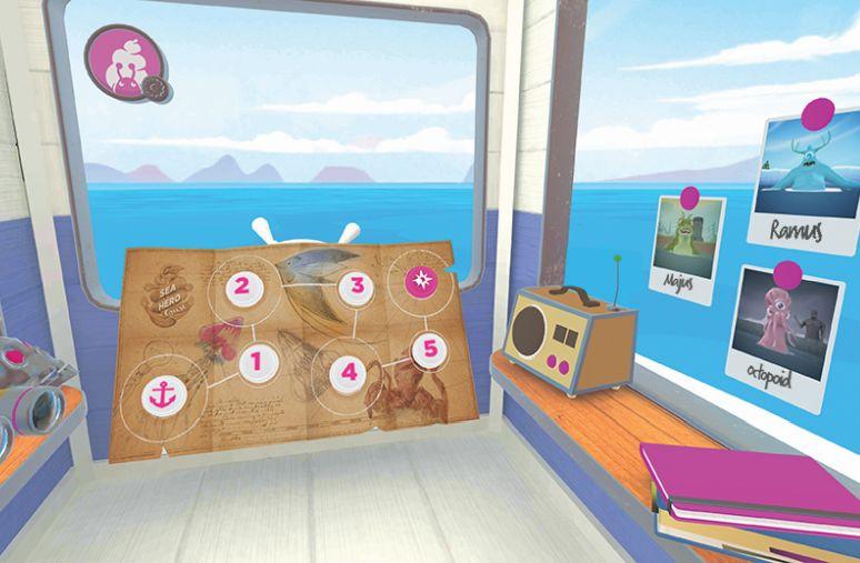 Saatchi London's Award-winning Sea Hero Quest Jumps to Virtual Reality