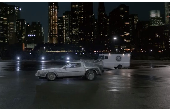 GE Takes Michael J. Fox Back to the Future