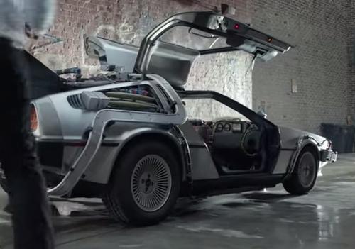 Partizan's Traktor Hops In the DeLorean for Phones 4U