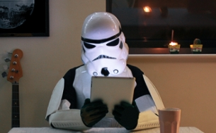 Feed Falls to the Dark Side with Star Wars eBay Homepage Takeover