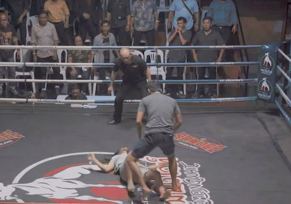 How a Brutal Stunt at a Thai Boxing Match Took on Domestic Violence