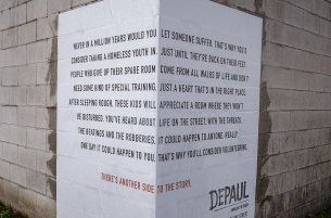 Publicis London's Street Corner Posters Show 'Another Side' to Homelessness