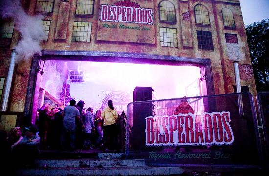 Desperados Lights Up London Festival Scene