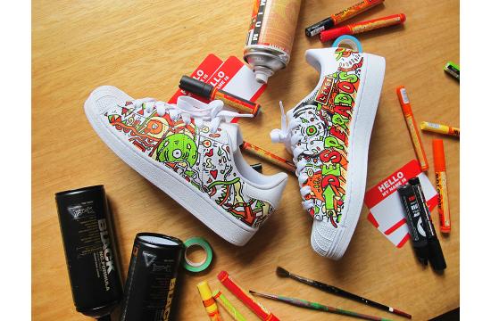 Desperados 'Graffiti Sneakers'