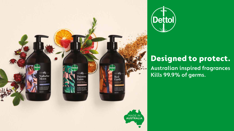 Dettol's New Product Range is Inspired By the Australian Heartland