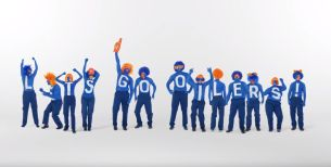 FCB Canada Paints up Edmonton Oilers Fans to Fire up Support for Incoming Season