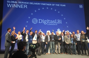 DigitasLBi Commerce Wins Hybris Global Service Delivery Partner of the Year Award