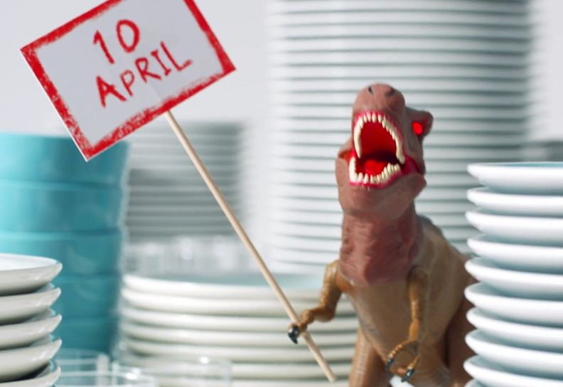 Argos Seizes the Day with World's First Ever Date-Stamped Campaign