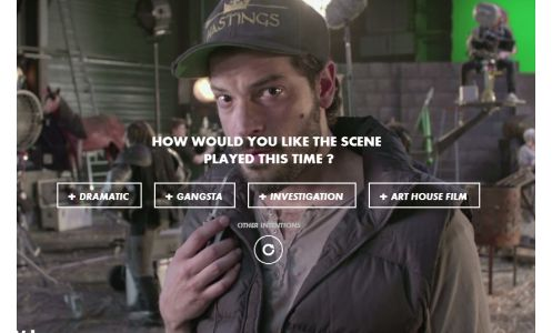 BETC Paris Lets You be the Director With Interactive Web Experience