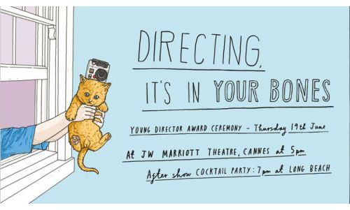 Register to Attend Young Director Award In Cannes