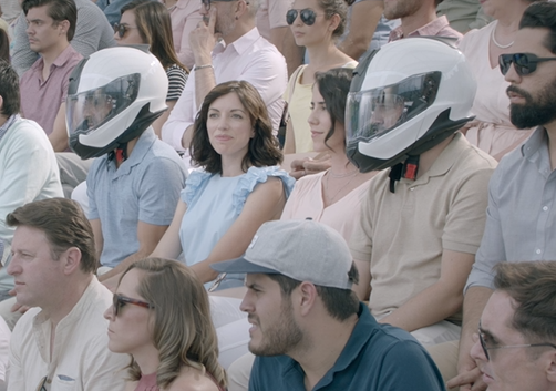 Awkward Conversations Are Saved by Helmets in BMW Motorrad Spots