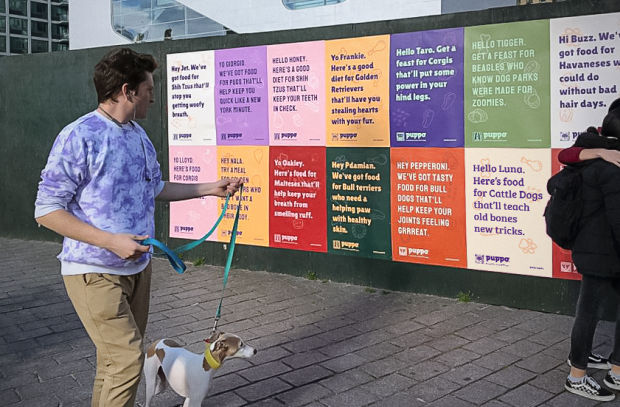 Puppo Creates Ads for Every Dog in New York City