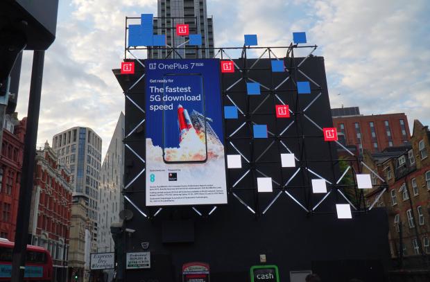OnePlus Celebrates 5G Smartphone with DOOH Campaign across London