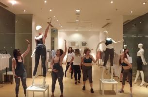 O&M London and Dove Present the #MannequinChallenge... With a Twist