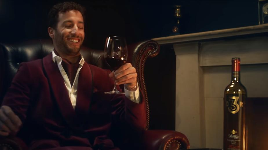 F1 Racer Daniel Ricciardo Brings a Touch of Cheeky Class to Wine Brand St Hugo