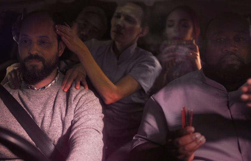 Masseurs in Car Highlight the Dangers of Drowsy Driving in adam&eveDDB's AA Spot