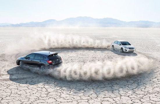 Dueling Imprezas Face Off for Subaru