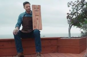 Wooden Dummy Takes Centre Stage in Humboldt Redwood Campaign