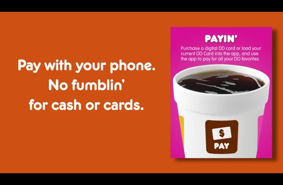 Dunkin' Donuts Launch Mobile Pay & Gift App