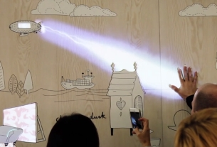 Dalziel and Pow Brings an Amazing Interactive Wall to Retail Design Expo