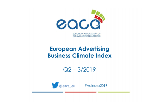 Confidence in the European Advertising Business Increases Marginally in Q2/2019