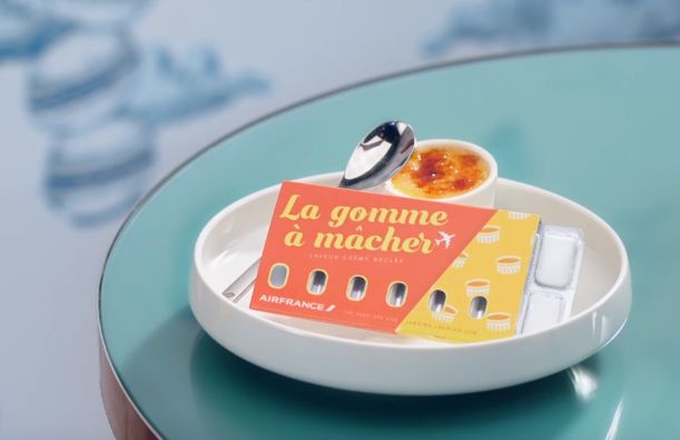 Air France and BETC Paris Ease In-flight Ear Woes with Dessert-Flavoured Gum