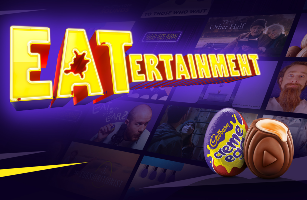 Cadbury Creme Egg Wades in on the Streaming War with 'EATertainment'