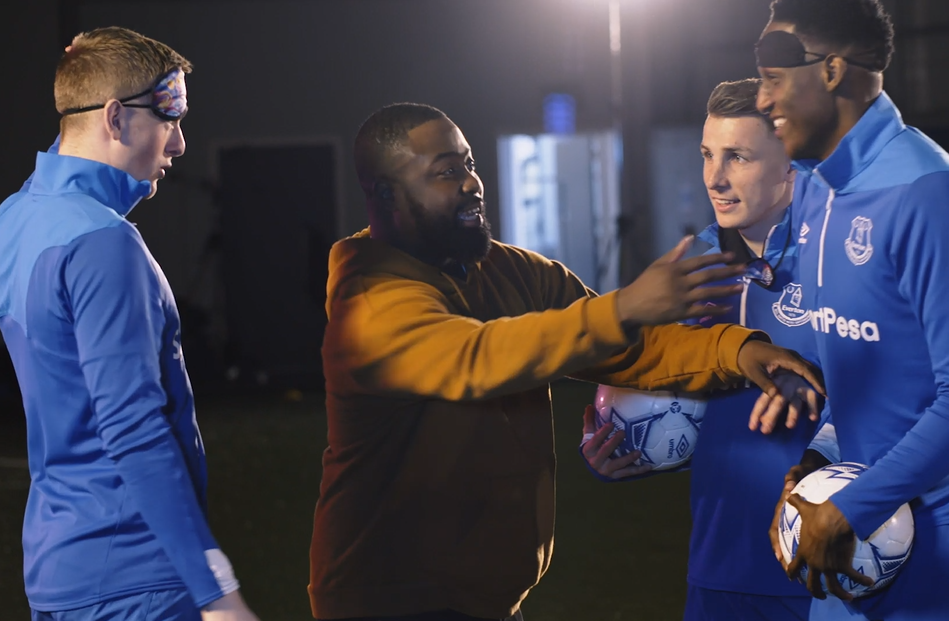 The Angry Birds Prank Everton Players in New Spot from The Mob
