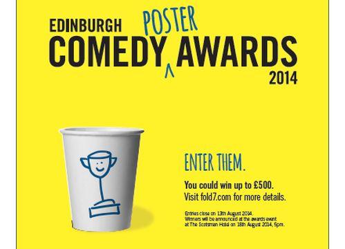 Fold7 Sponsors First Ever Edinburgh Comedy Poster Awards