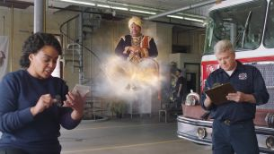 The Office's 'Stanley' Stars as a Grumpy Genie to Promote Illinois Lottery's New Multiplier Instant Tickets