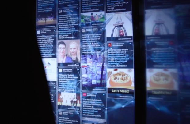 How Geometry Hijacked a Dubai Elevator to Show the True Power of Twitter