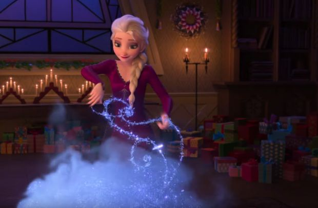That's Why Elsa Goes to Iceland