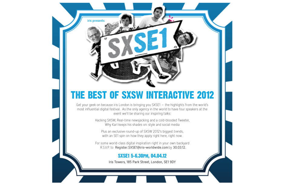 Iris Launches Global SXSW Roadshow To Bring Benefits Home To Clients