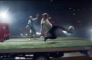 Emil Möller Directs Nissan's Intense Game of 'Truckerball'
